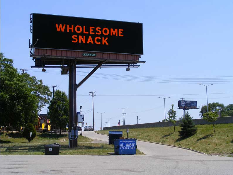 Kristen Baumlier - Same Great Taste Billboard Project